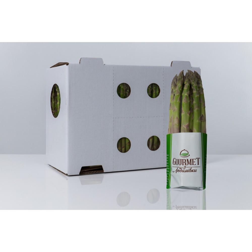 Аспарагус Зелений (4,95 кг в 1 ящику, 11 шт.)